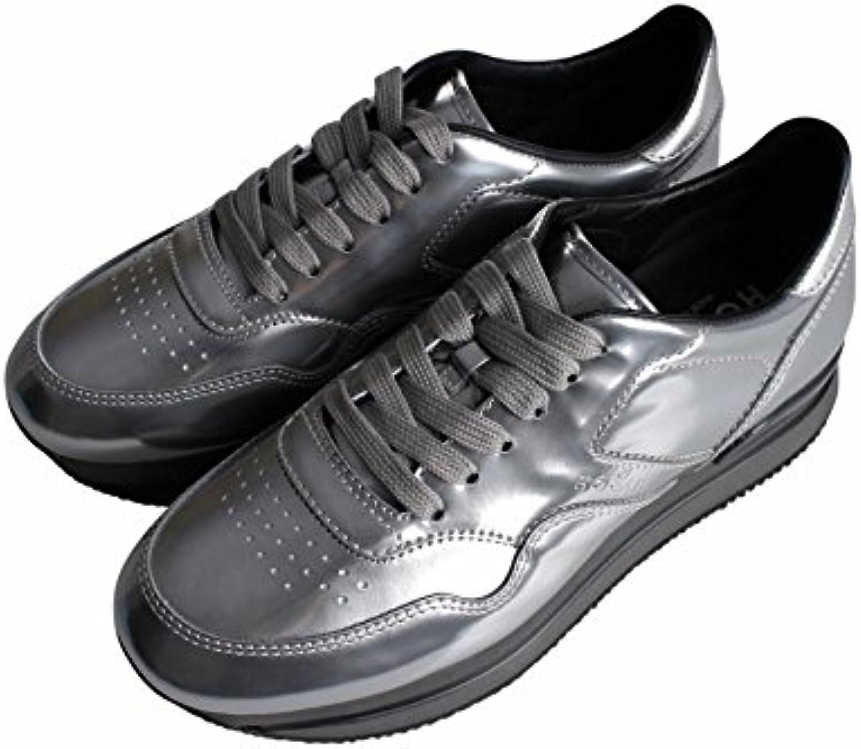 HOGAN Sneakers H222 Donna in Vernice Mod. HXW2220M4685UEB200