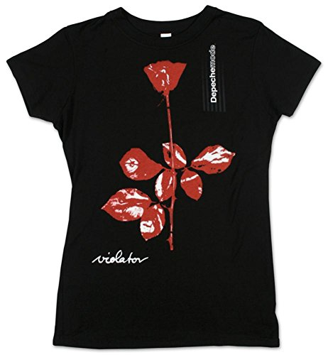 FEA Depeche Mode – Violator Juniors Camiseta Negro Negro XL
