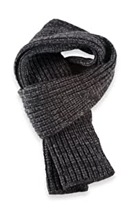 Comfy italienischer Designer Strick schal Winter schal schwarz meliert