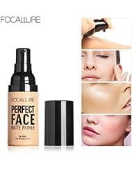 Amuster Fond de teint liquide Fond de teint hydratant anti-cernes BB Concealer pour garder le maquillage de beauté...