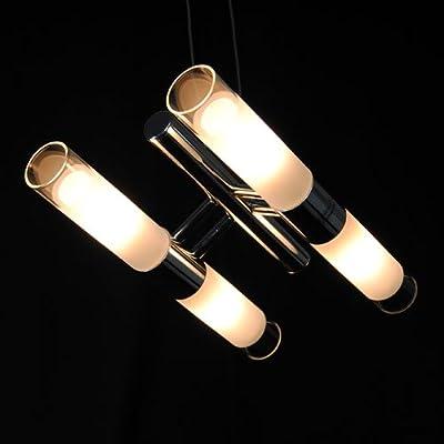 Pendelleuchte Lampe Havanna Glashülsen chrom 4x40W von Eglo Leuchten auf Lampenhans.de