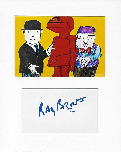 Ray Brooks Mr Benn Autogramm und Foto AFTAL