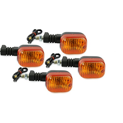 Motorize - Moto Indicateurs Set - 4 pièces - Kawasaki ZR 7 ZR750 ZR7 ZR 750 ZR 7 7R E-marqué - Set 11