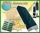 SACCA FILTRANTE+SACCHI FILTRO+PROFUMINI COMPATIBILE ASPIRAPOLVERE FOLLETTO 120