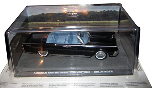 007 James Bond Car Collection #132 Lincoln Continental convertible (Goldfinger)