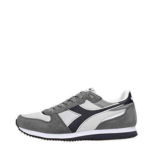 Diadora 101.170241/AI Sneakers Homme Aluminum/Blue Nights