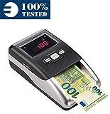 Détecteur de faux billets automatique MONEPASS - Certifié 100% détection de faux billets par la Banque Centrale Européenne - prêt pour le nouveau billet € 100 et € 200
