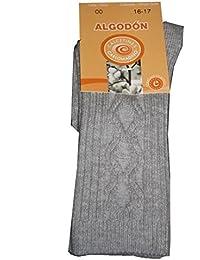 Color gris y de alta calidad de la rodilla de calcetines antideslizantes con separación de