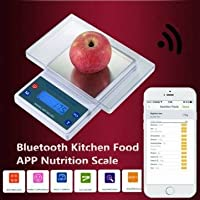 5Kg/1g Smart Digital Kitchen Scale APP Bluetooth Nutritional Food Scale For IOS / Android