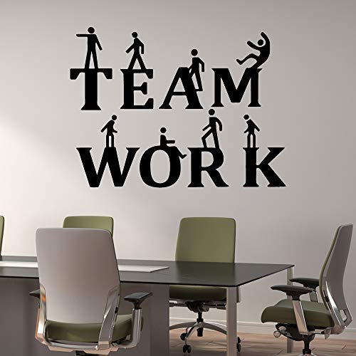 Mode büro inspiration slogan teamarbeit abnehmbare vinyl wandaufkleber wasserdichte wand stickers43 * 57cm