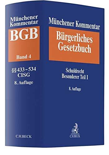 Münchener Kommentar zum Bürgerlichen Gesetzbuch  Bd. 4: Schuldrecht, Besonderer Teil I §§ 433-534, Finanzierungsleasing, CISG