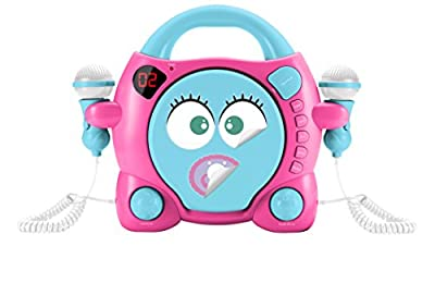 BigBen Interactive My ma Portable CD Player Blue, Pink – CD Players (LED, Digital, 3.5 mm, lr014, 332 mm, 262 mm) par Bigben Interactive