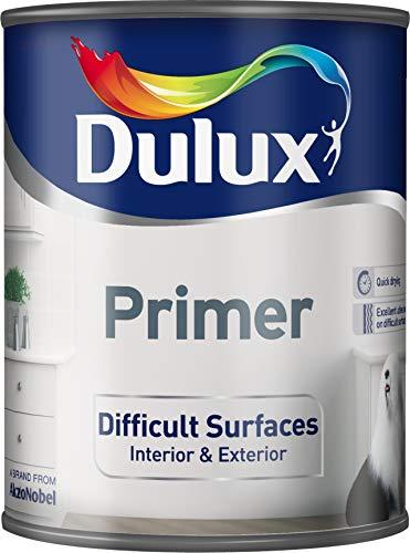 Primer per superfici dure, Dulux, 750 ml, colore: bianco