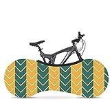 LDIW House di Interno per Bicicletta Copertura Biciclette Adatta per Pneumatici da 26-28 Pollici Mantiene Pavimenti e Pareti Senza Sporcizia, Serie Stripe,#011,160x55cm