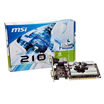 Sdram Clock (MSI n210-md1g/D3GeForce 210Grafikkarte-589MHz Core-1GB GDDR3SDRAM-PCI Express 2.0x16-Halbhohe-1000MHz Memory Clock-2560x 1600-DirectX 10.1,-HDMI-DVI-VGA Low Profile)
