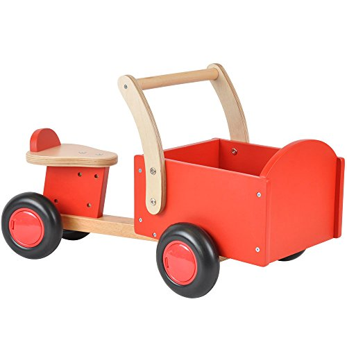Bandits & Angels Vierrad mit Transportbox - Rot ab 1 Jahre thumbnail