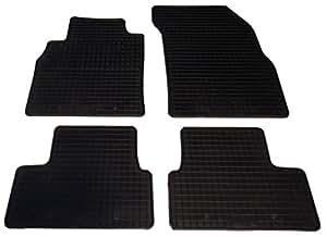 Mini one et mini cooper à partir de 2009/2010/2006 2001–tapis de sol en caoutchouc (noir)
