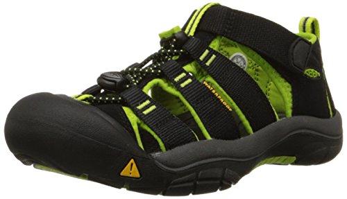 Keen Newport H2, Unisex-Kinder Trekking & Wanderhalbschuhe, Grün (Lime Green), 38 EU