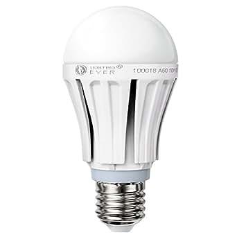 10W A60 E27 LED Birnen, 810 lm, Warmweiß, entspricht 60W Glühbirnen