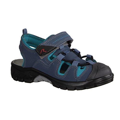 Ricosta Reyk 6121500/125 Kinder Sandale in Mittel Blau