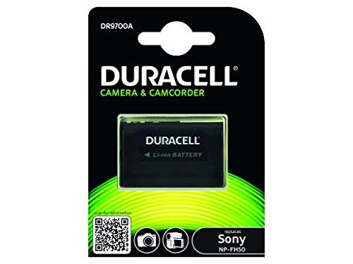 Duracell DR9700A Li-Ion Camcorder Ersetzt Akku für Sony NP-FH50/NP-FH70/NP-FH30 (Duracell Camcorder)