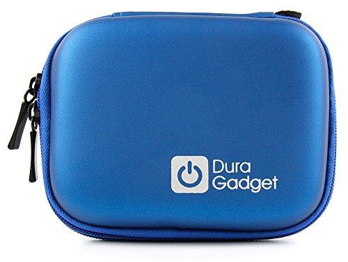 Blaues Hard Case der Marke DuraGadget für die Canon Ixus 185 / 190 Digitalkamera