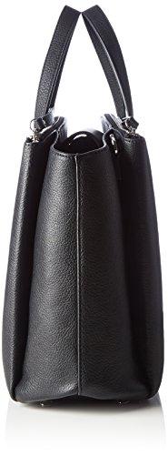 Tommy Hilfiger Th Core Satchel, Sacs portés main Noir - Schwarz (Black 002)