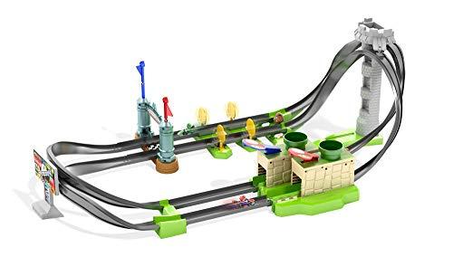 Hot Wheels GHK15 - Mario Kart Mario Rennbahn Trackset