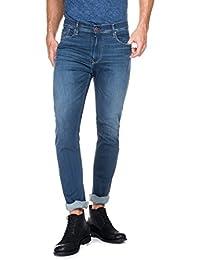 Salsa - Jeans Slender premium flex avec la jambe slim et dèlavage moyen - Homme