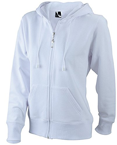 Ladies' Hooded Jacket White