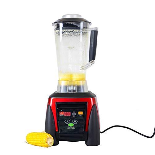 Licuadoras 2200W Batidoras 2L Alta Velocidad Blender Mufti-Función Licuadora De Hielo Para Restaurante Casero Leche Batidos Alimentos Fruta Roja