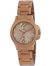 Maxima Analog Rose Gold Dial Women's Watch - 43054CMLR