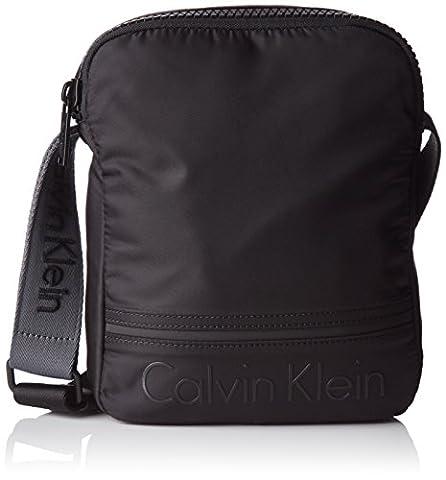 Calvin Klein Matthew Reporter, 001, Os, Besaces homme, Black, 6.5x20x24 cm (W x H L)