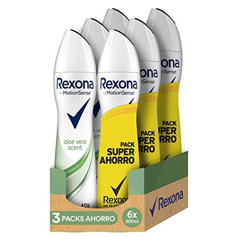 Rexona Desodorante Antitranspirante Aloe Vera - 1