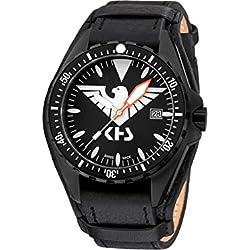 KHS Tactical Watches MissionTimer 3   Eagle One KHS.MTE.R Militär Armbanduhr