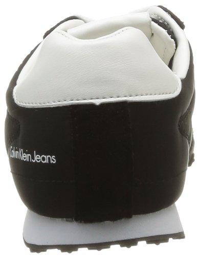 Calvin Klein Jeans Nash, Baskets mode homme Noir (Bwt)