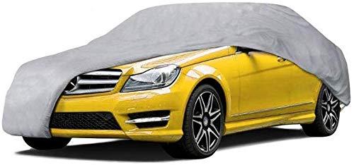 Mnjin Schutzhülle Autoplanen Four Seasons Universal Wasserdicht UV Atmungsaktiv Staubdicht Schutz Outdoor Schutz Kompatibel mit Citroen C4L Autoplanen Jacken Schutzkleidung
