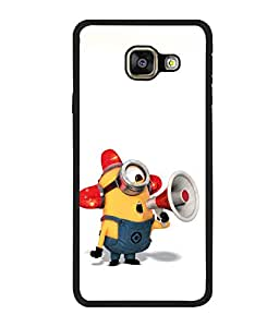 printtech Minions Traffic Back Case Cover for Samsung Galaxy A5 (2016) :: Samsung Galaxy A5 (2016) Duos with dual-SIM card slots
