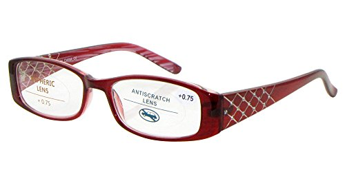 r358-high-quality-womens-reading-glasses-cross-pattern-diamante-arms-225-225-red