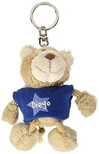 NICI n15862-Llavero Oso con Camiseta Diego, Azul