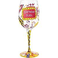 Lolita - Copa de vino Birthday Girl