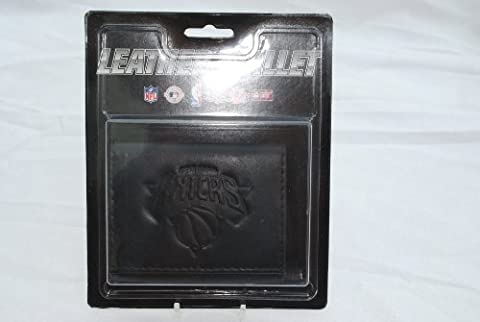 New York Knicks Black Leather Tri-fold