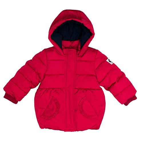 SALT AND PEPPER Baby-Mädchen Outdoor Girls reflektierende Details Jacke, Rot (Cherry Red 337), (Herstellergröße: 80)