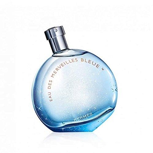Eau des Merveilles Bleue by Hermes Eau de Toilette Spray 100ml