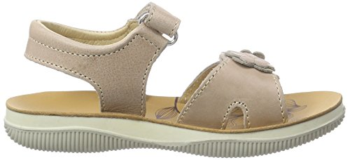 Naturino  NATURINO 5730., Sandales Bout ouvert fille Beige (Taupe)