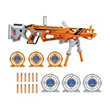 Hasbro C2543EU5 Nerf N-Strike Elite AccuStrike RaptorStrike Value Pack - Big Bonus Set with 4 Magazines, 24 Darts and 6 Targets
