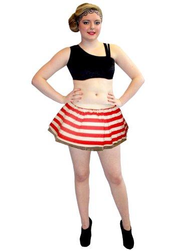 Handtaschen Dress Fancy Kostüm - Striped Tutu Skirt Fancy Dress Costume