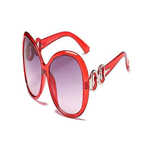 Sportbrillen, Angeln Golfbrille,NEW Fashion Vintage Big Female Sunglasses Women Brand Designer Feminine Sun Glasses Women's Pixel Glasses Oculos De Sol Red