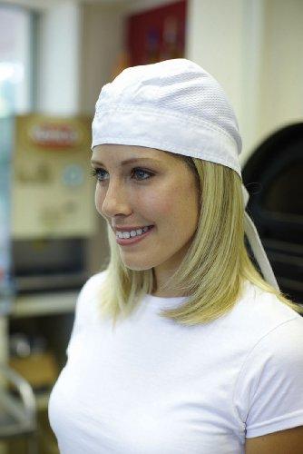 Dennys - Cappellino da Chef (Taglia unica) (Nero)