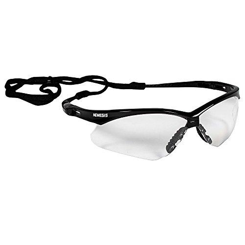 Kimberly Clark 25679 JACKSON SAFETY V30 NEMESIS Schutzbrille, Beschlagfrei-Beschichtung, Transparent (12-er Pack)